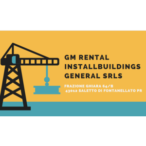 GM Rental Installbuildings General srls Saletto di Fontanellato (PR)